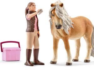 Schleich Groom W/Icelandic Pony Mare-0