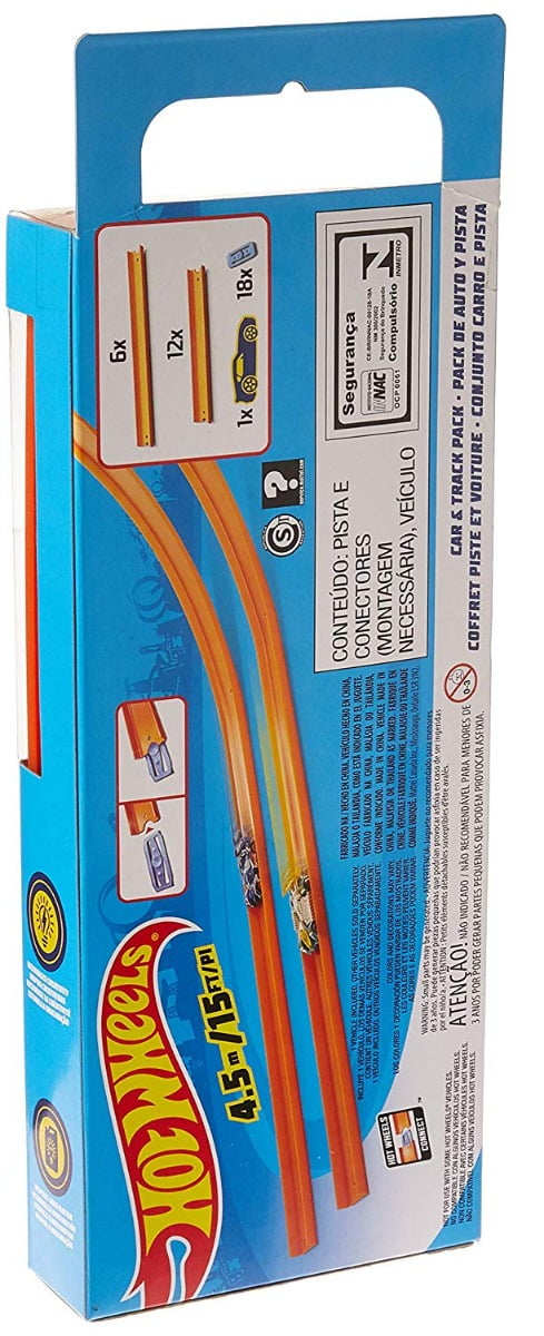 HW Straight Track W/Car-6206