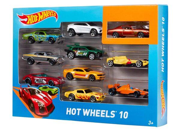 Hot Wheels 10 Car Pack -6167