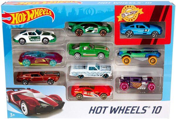 Hot Wheels 10 Car Pack -6165