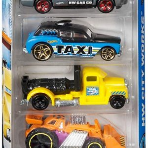 Hot Wheels 5 Car Gift Pack-0