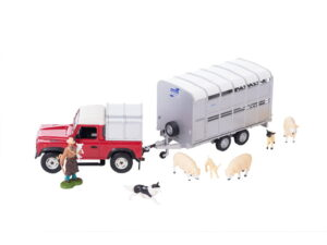 Britains Land Rover And Trailer Set