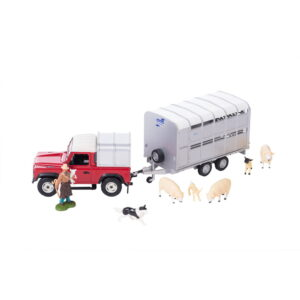 Tomy Toys Britains Land Rover And Trailer Set-0
