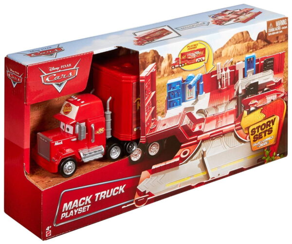 Cars Mack Truck Playset-6242