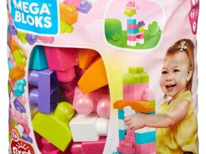 Big Building Bag 60PC Pink-0