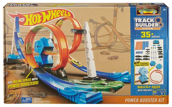 Hot Wheels Track Builder Power Booster Kit-0