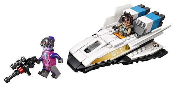 Lego Tracer vs Widowmaker-6678