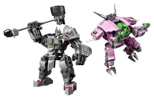Lego D va & Reinhardt-6688