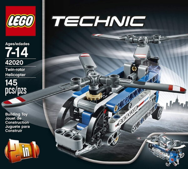 Lego Twin-Rotor Helicopter-6516