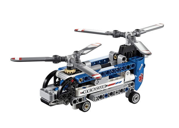 Lego Twin-Rotor Helicopter-6517
