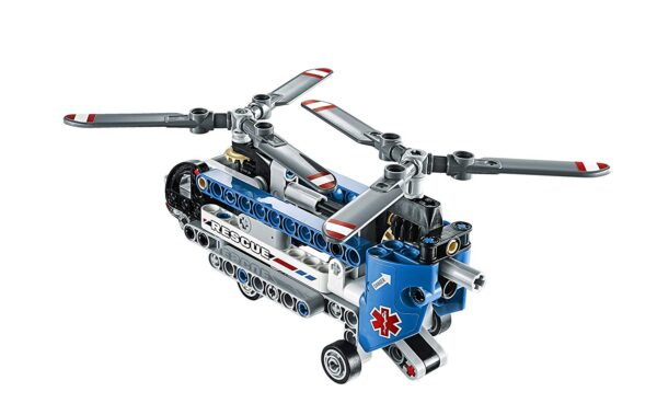 Lego Twin-Rotor Helicopter-6518