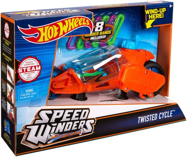 Hot Wheels Twisted Cycle-6459