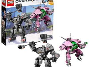 Lego D va & Reinhardt-0