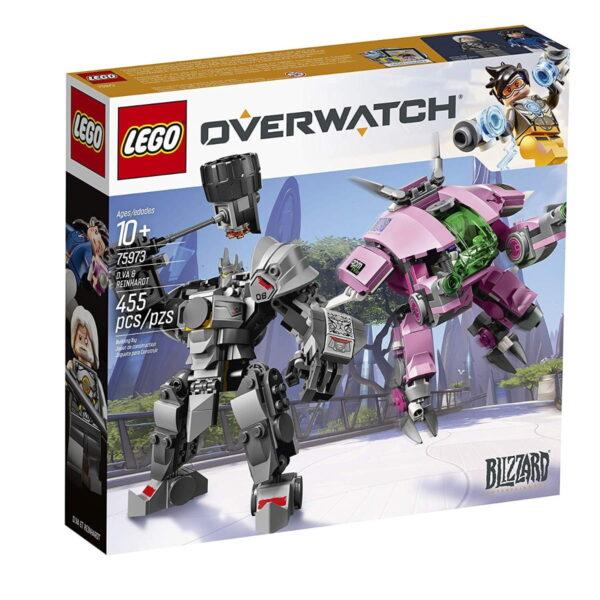 Lego D va & Reinhardt-6690