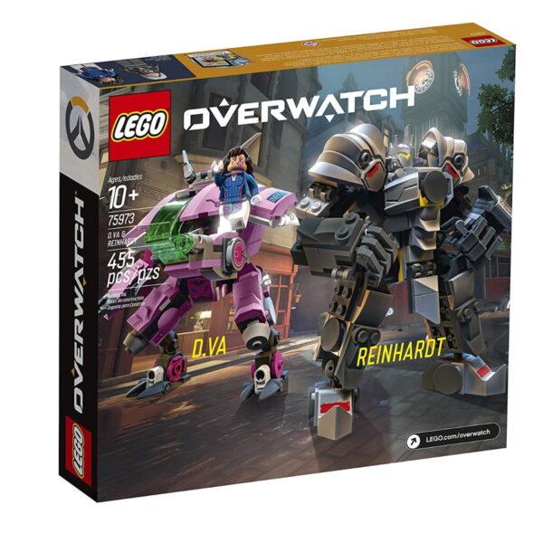 Lego D va & Reinhardt-6691