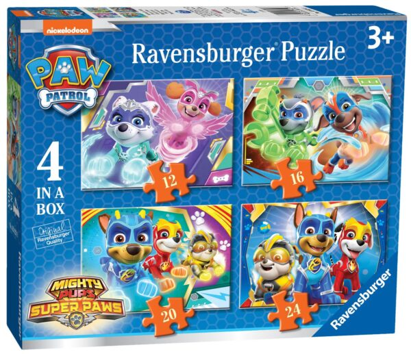 Ravensburger Might Pups 4 in a Box Puzzles