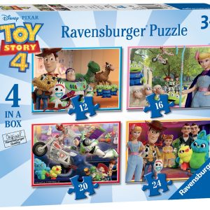 "Ravensburger ""Toy Story 4"" 4 in a Box Puzzles-0"