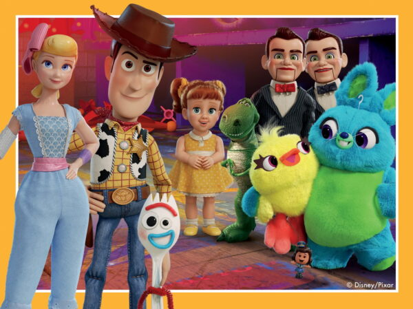 """Ravensburger """"Toy Story 4"""" 4 in a Box Puzzles"""