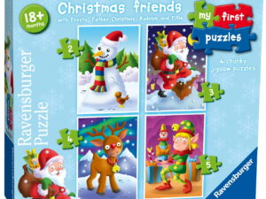 Ravensburger My First Puzzle, Christmas Friends-0