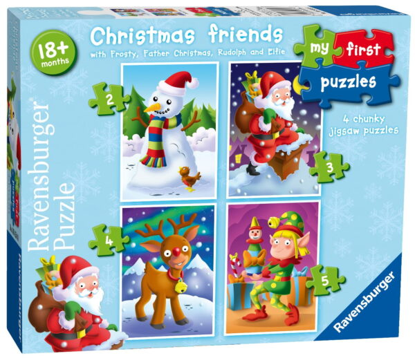 Ravensburger My First Puzzle Christmas Friends