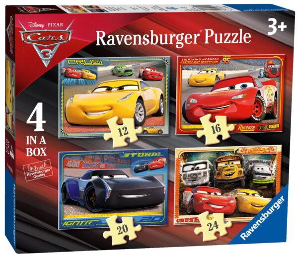 Ravensburger Cars 3 Puzzles-0