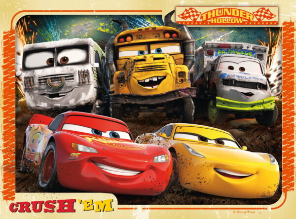 Ravensburger Cars 3 Puzzles-6739