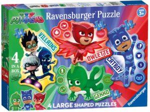 Ravensburger PJ Masks 4 Large Puzzles-0