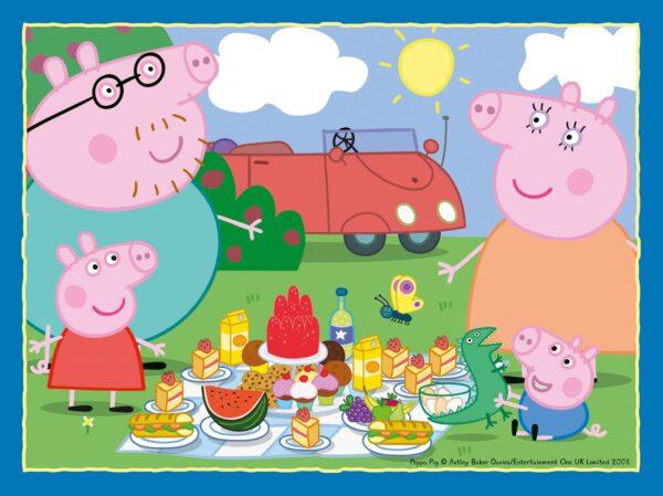 Ravensburger Peppa Pig 4 In A Box Puzzles