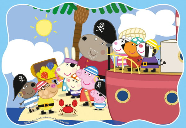 Ravensburger Peppa Pig 3 in a Box Puzzle