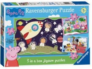 Ravensburger Peppa Pig 3 in a Box Puzzle-0