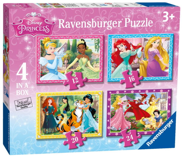 Ravensburger Disney Princess 4 in a Box Puzzle