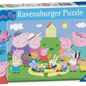 Ravensburger Peppa Pig Fun in the Sun Puzzle-0