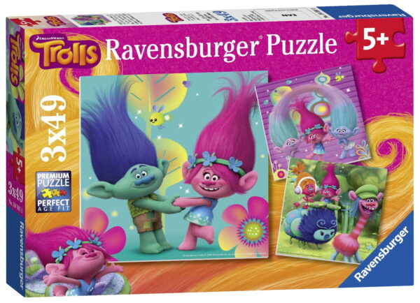 Ravensburger  Trolls 3x Puzzle
