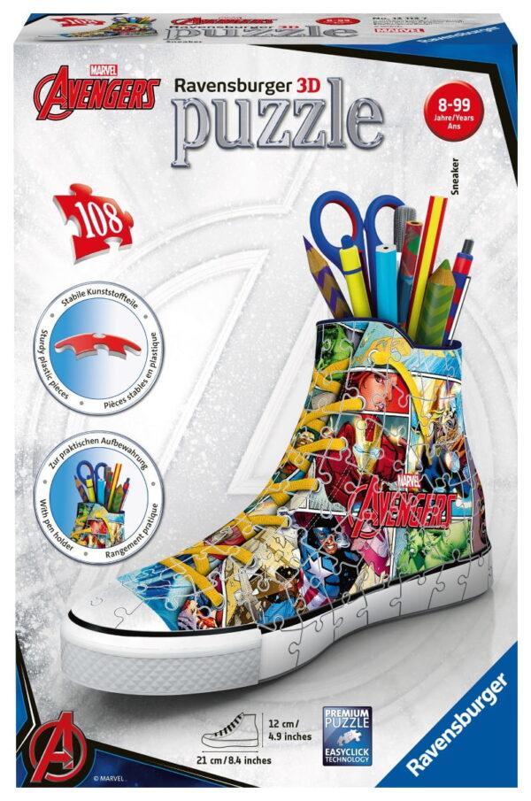 Ravensburger Marvel Comic Book Sneaker Puzzle