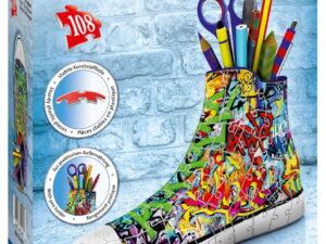 Ravensburger Graffiti Sneaker 3D Puzzle-0