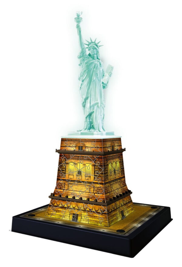Ravensburger Statue of Liberty Night Edition 3D Puzzle