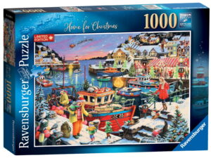 "Ravensburger ""Home for Christmas!"" Puzzle-0"