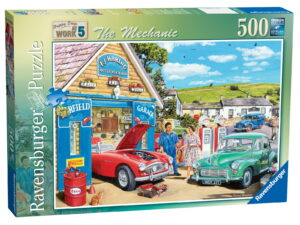Ravensburger The Mechanic Puzzle-0