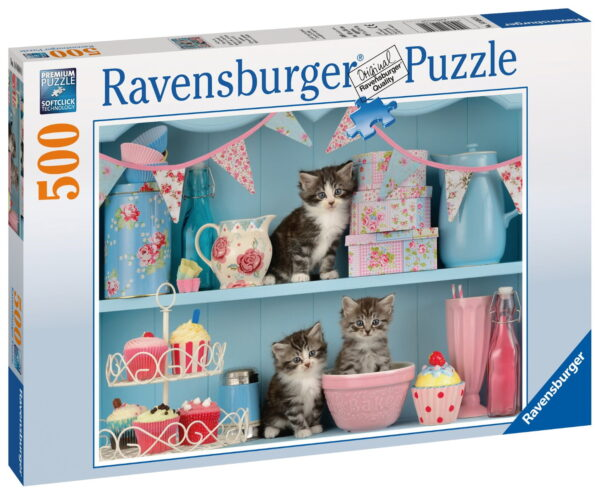 """Ravensburger """"Kittens and Cupcakes"""" Puzzle-0"""