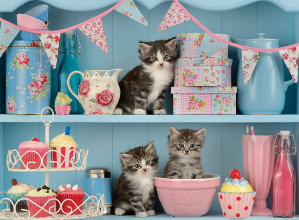 """Ravensburger """"Kittens and Cupcakes"""" Puzzle-7174"""