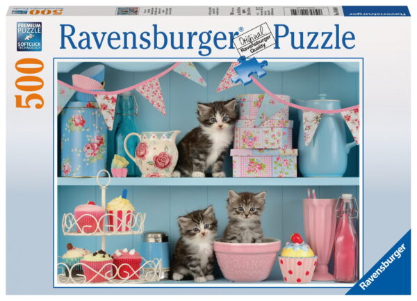 """Ravensburger """"Kittens and Cupcakes"""" Puzzle-7175"""