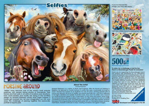 Ravensburger Selfies Horsing Around Puzzle