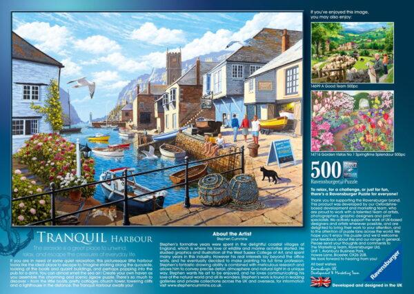 """Ravensburger """"Tranquil Harbour"""" Puzzle"""