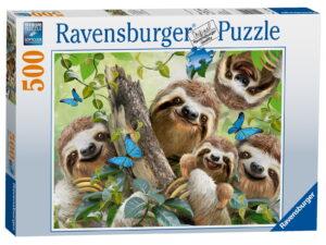 Ravensburger Sloth Selfie Puzzle-0