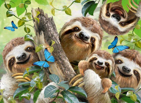 Ravensburger Sloth Selfie Puzzle
