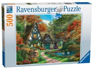 Ravensburger Cottage Hideaway Puzzle-0