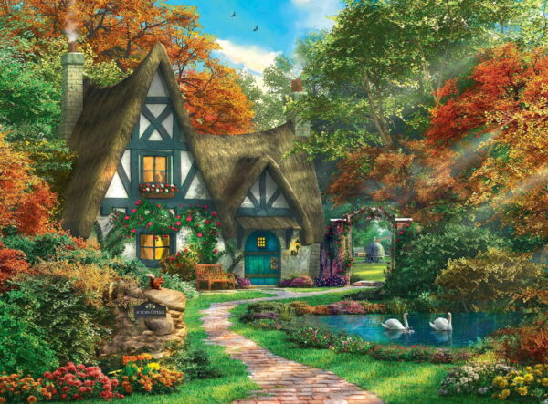 Ravensburger Cottage Hideaway Puzzle