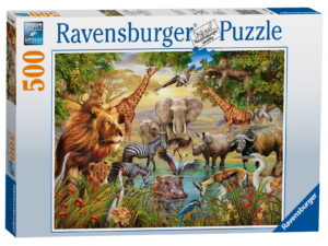 Ravensburger Animals at The Waterhole Puzzle-0