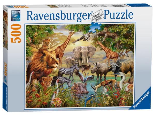 Ravensburger Animals at The Waterhole Puzzle