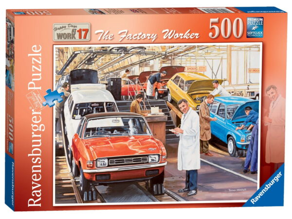 Ravensburger The Factory Worker Puzzle